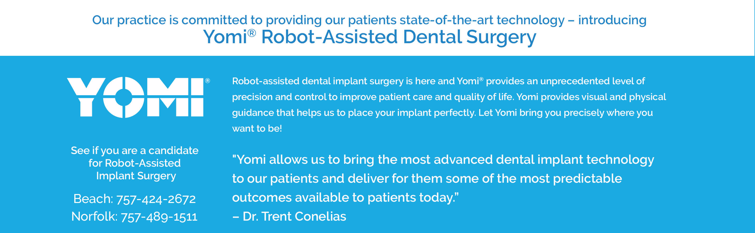 robotic assisted dental surgery